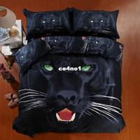 100% Cotton other other High-quality 100% cotton luxury queen king size 3d Oil painting bed linen bedding set bedclothes Animal bed cover1000TC