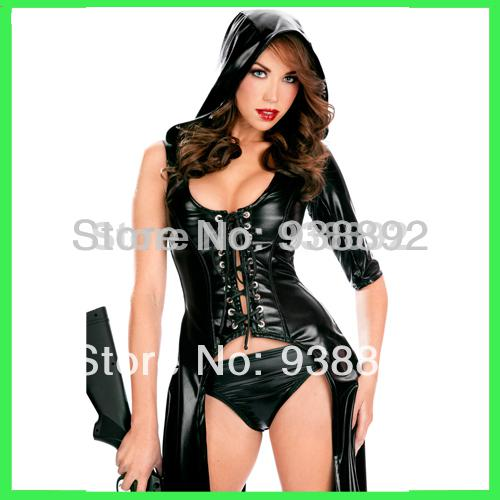 Women Sexy Adult Green Christmas Costume,Fashion New Woman Christmas Clothes:Top+Skirt,Free Shipping