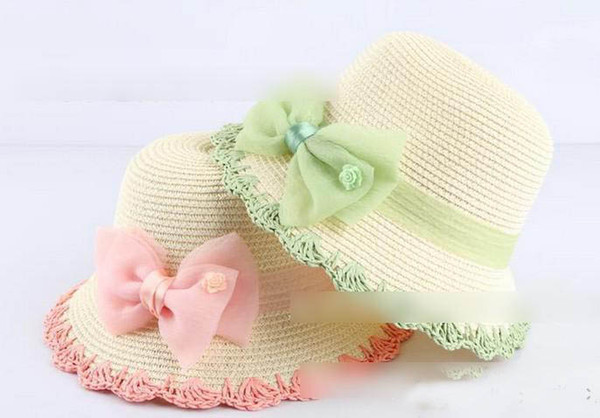 горячий продавать низкая цена ребенка мама Family Beach цветок берета шапки детские шапки детей ежедневно Hat