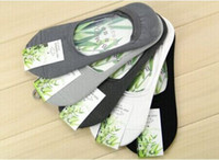 Wholesale Fashion pairs Men No Show Hidden Socks Foot Liners Low Cut for sneakers boat shoes boat shoes