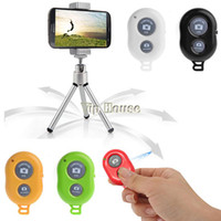Wholesale Fashion New Hot Bluetooth Self Timer Remote Shutter For Android IOS iPhone S Samsung B6 SV004218