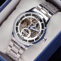 Wholesale New Arrival luxury silver polish watch stainless steel AUTOMATIC MECHANICAL watch mens sport watches mce