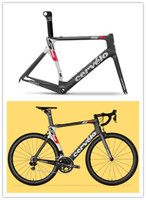Road Bikes Carbon Fibre UD Cervelo Bicycle carbon frame S5 Red WHITE black team VWD aero road carbon fiber frame+fork+aero seatpost+clamp+headset, PINARELLO LOOK TIME