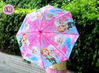 Wholesale New Arrival Frozen Umbrella Frozen Princess Elsa Anna Children Umbrella cm Frozen Series