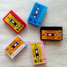 Wholesale Vintage Cassette MP3 Player MP3 Players Colorful Sports Cheap MP3 Player Fashion design Best value MP3 Players