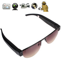8G Yes Black HD Glasses Camera 1080P H.264 Nylong Lens Hidden Camera Eyewear Spy Camera Glasses Hidden Camera Suppport Video Recording & Photo Taking