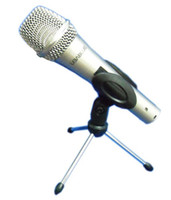 Wholesale New Arrive OEM Adjustable Aluminum Alloy DeskTop Mic Microphone Clamp Clip Holder Stand Tripods pc