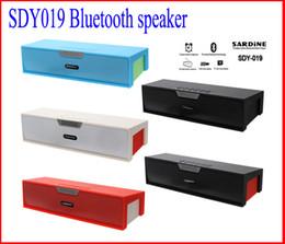 SDY-019 Original Nizhi HIFI Bluetooth Speaker with screen SDY019 Sardine FM Radio wireless USb Amplifier Stereo Sound Box