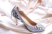 Cheap Wedding Wedding Shoes Best Heels Low Heel Silver Rhinestone Dress Shoes