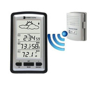 Wholesale Wireless Weather Station Barometer with Clock for indoor outdoor temperature recorder in retail package