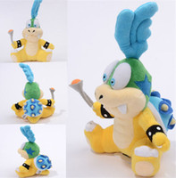 Unisex mario plush - Details about GENUINE Super Mario Bros quot Cheatsy Larry Koopa Koopalings Plush Doll Toy SANEI