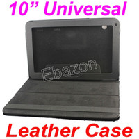 Cheap Universal 10 Inch PU Leather Case Without Keyboard For All 10 10.1 10.2 Inch Tablet PC A20 Dual Core A31S Quad Core A23 Dual Core 100pcs