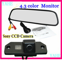Wholesale quot Color TFT LCD Car Rearview Mirror Monitor Sony CCD Special Car Rear View Camera for Ford Focus Sedan