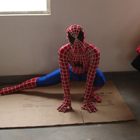 adult spiderman outfit - spiderman costume adult mascot costumes halloween party fancy dress price for sale outfits