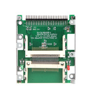 cf to ide adapter - 2 quot Dual CF Compact Flash to pin IDE Male Adapter Converter C674R