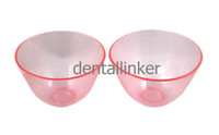 big Flexible Rubber  13cm  2 pcs Rubber Mixing Bowl Dental Lab Flexible Lab Equipment Bowl