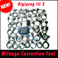 Wholesale 2014 hot selling Digiprog III Mileage Correction Tool Digiprog Odometer Programmer V4 with Full Software with DHL