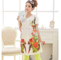 Buying Cute Cheap Summer Clothes Online Parrot Print Summer
