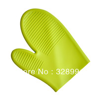 Wholesale silicone household gloves silicone oven mitt glove
