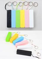 Wholesale 50sets mAh perfume mini Power Bank universal USB External Backup Battery DY