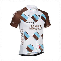 Wholesale 2014 Latest Ag2r Team Cycling Top Bib Pants Summer Cycling Clothing Short Sleeve Cycling Shirts Pieces Hot Sale Bike Wear