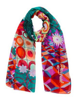 Wholesale New spain brand scarf fashion ladies Scarves wraps green desigual scarf large shawl women infinity silk scarf