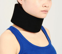 posture collar - Deluxe Adjustable Neck Support Brace Foam Cervical Collar Wrap Stiff Neck Pain Relief Posture Corrector