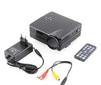 Wholesale HOT USB HDMI Home Cinema Theater Multimedia LED LCD Projector HD P PC AV TV VGA
