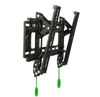 Wholesale Home Mounts NB U1 T Black Angle Free Tilt Flat Panel LCD LED TV Wall Mount Bracket Max load Ibs