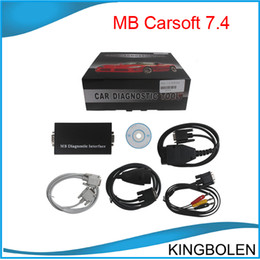 Wholesale MB Carsoft Multiplexer MCU Controlled Interface for Mercedes Benz OBD2 EOBD UOBD tool DHL Post
