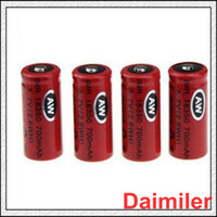 Wholesale Best High quality on sale Unprotected Vapers AW IMR LI MN high drain battery for E cig with buttop top