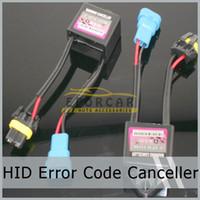 achat en gros de xenon hid capacitor-10 Code d'erreur x HID Warning Canceller condensateur pour Kit Xenon plug / Lecture de port Nouveaux gratuit