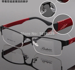 Wholesale Spectacle frame Men Half Rim Frame myopia glasses optical frame glasses eyewear brand designer eyeglasses frame men eyeglasses women glasses