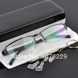 Wholesale Half Rim Frame Spectacle frames eyeglasses Metal frame eye glasses optical myopia eyeglasses frame prescription glasses fashion eyeglasses