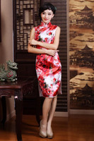 2014 New Design!Elegant 100% Slik Summer Improved Short Dres...
