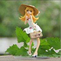 """Wholesale Super Mario Action Figures Collection - 7.5"""" Monogatari Nisemonogatari Oshino Shinobu Painted 1 8 Scale PVC Action Figure Collection Model Toy"""