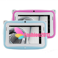 Wholesale Lovely Kids Tablet Inch Android OS tablets for Children with Wifi Dual Camera RK2926 CPU RAM GB ROM for Kids Gift