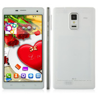 Wholesale MELROSE P780 quad core MTK6582 android Phone Inch IPS GHz GB RAM GB ROM MP camera GPS G smart phone flip cover