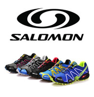 Wholesale new arrival salomon Running shoes men man sport men running shoes mens sneakers with box Size c