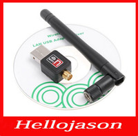 Wholesale 1307 dBi n g b Mbps Mini USB WiFi Wireless Network Networking Card LAN Adapter Antenna Computer Accessories