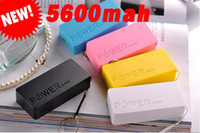 Direct Chargers Universal  100pcs DHL 5600mah Perfume Power Bank Emergency External Battery Charger panel USB for All Mobile phones