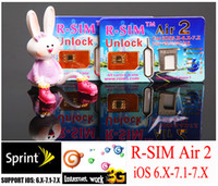 New R- SIM air2 RSIM air 2 r- sim air 2 Unlock for iphone 4S 5...