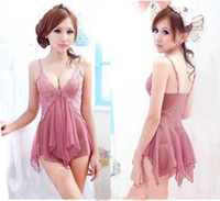 Low Bosom sexy ladies underwear - Sexy Women Lady Lace Lingerie Underwear Nightwear Babydoll Teddy Dress G String