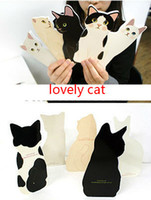 Wholesale 2014 New Novelty Lovely D Cat Greeting Card with Envelope Christmas Card