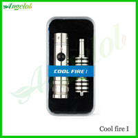 Innokin Metal  Single Hottest innokin cool fire 1 Starter kit with iclear 30b dual coil atomizer electronic cigarette cool fire 1 Free shipping