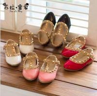 autumn shoes - Fashion Korean Style Childrens PU Leather Shoes Autumn Hot Sale Baby Girl s Fashion Princess Shoes