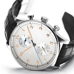 Top brand watch Men Quartz Stopwatch man Style chronograph watches stainless steel wrist watch W16