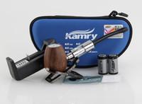 Single Kamry K1000 Original Kamry Wooden epipe k1000 Electronic Cigarette wood epipe k1000 kit with 18350 Battery K1000 Tank BY DHL