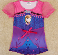 Sunshine Retail 2014 New Frozen Dress Elsa& Anna Summer D...