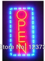 neon open sign - Animated Motion Running LED Business OPEN SIGN On Off Switch Bright Light Neon